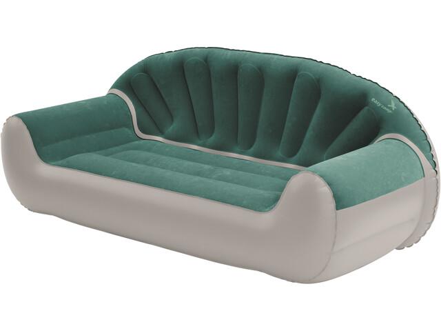 Easy Camp Comfy - Taburetes plegables - gris/verde